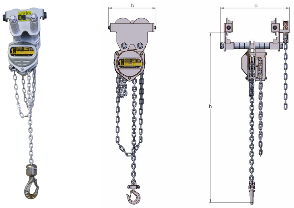 Corrosion Protected Combined Chain Hoist