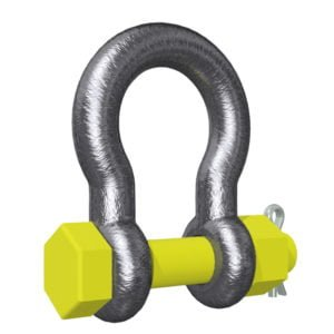 Alloy Safety Pin Bow Shackle